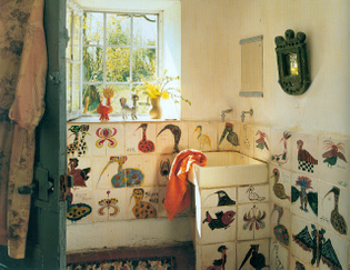 home of french ceramic artist marguerite carbonell
