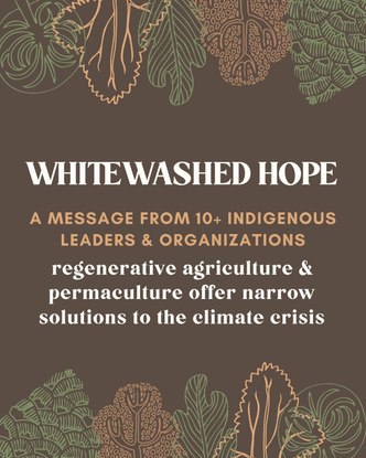 """Slow Factory 🌍 on Instagram: """"🚨AMPLIFYING🚨 This Indigenous-led collaborative post we're supporting invites proponents of wes..."""
