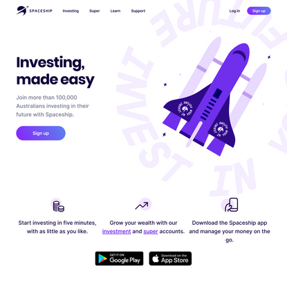 Spaceship — Investing, made easy, for everyone