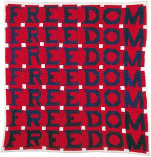 Jessie B. Telfair's Freedom Quilt