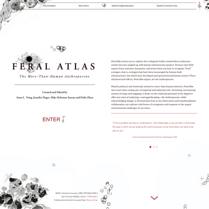 Feral Atlas: The More-Than-Human Anthropocene