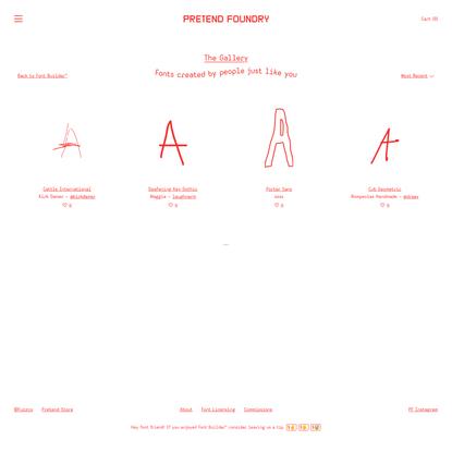 Pretend Foundry