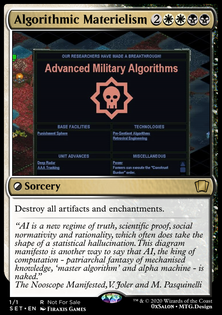 Algorithmic Materielism