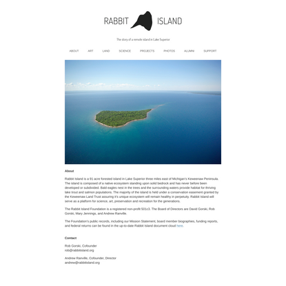 About the Rabbit Island Foundation