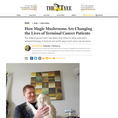 How Magic Mushrooms Are Changing the Lives of Terminal Cancer Patients | The Tyee
