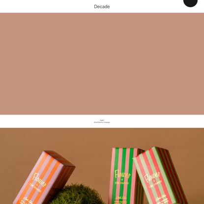 Decade — A branding and creative studio