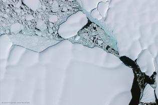 Antarctica (Google Earth View 12809)