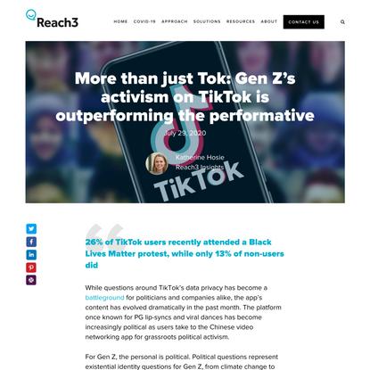 (9.2) Gen Z's activism on TikTok