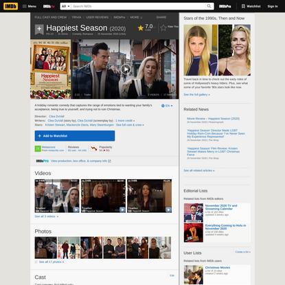 Happiest Season (2020) - IMDb