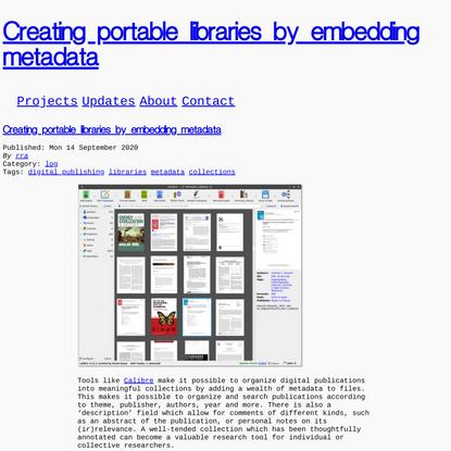 roelof.info - roel roscam abbing - Creating portable libraries by embedding metadata