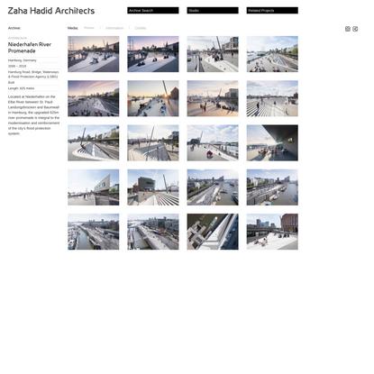 Niederhafen River Promenade – Zaha Hadid Architects