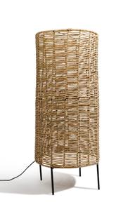 Cylinder Floor Lamp, Tule, Clay Casa