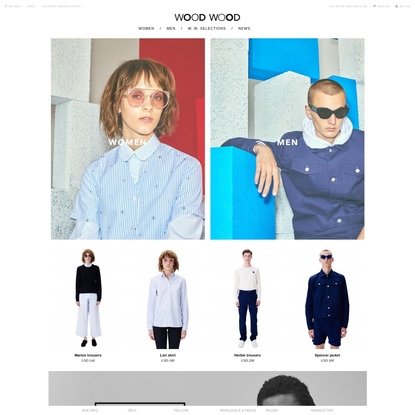 Wood Wood | The official Wood Wood Website