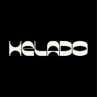 "Querida on Instagram: ""New brand for @heladomusic ✨🍦🍨"""