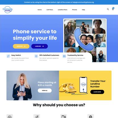 A Friendly Phone Company