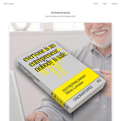 Entreprecariat — Silvio Lorusso