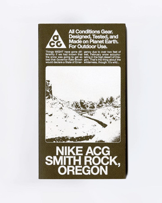 """Design Everywhere on Instagram: """"@n33kz's art direction for the @nike ACG guidebook. The guidebook tells the story of the AC..."""