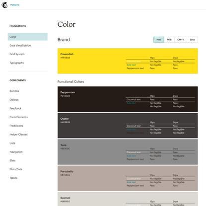 Color | Mailchimp