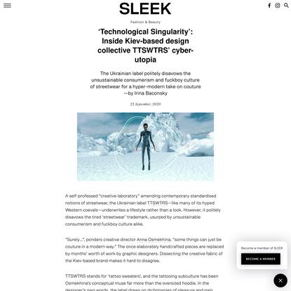 'Technological Singularity': Inside Kiev-based design collective TTSWTRS' cyber-utopia