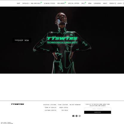 TTSWTRS — Official online store