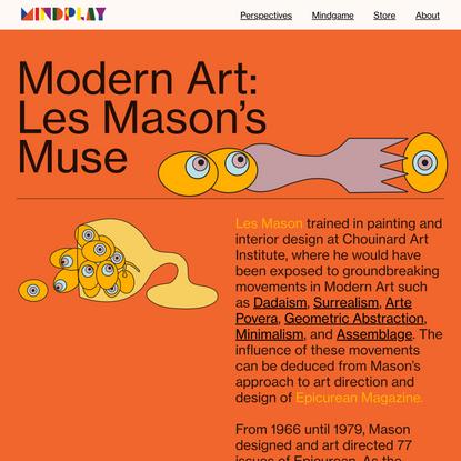 Modern Art: Les Mason's Muse — MindPlay Les Mason