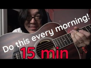 Do This Routine Every Morning To Get Shredded!! 5 Great Guitar Techniques!!