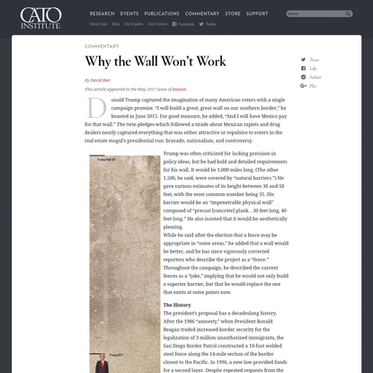 Why the Wall Won't Work