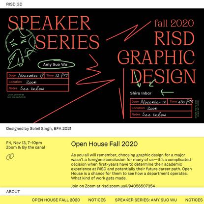 RISD Graphic Design