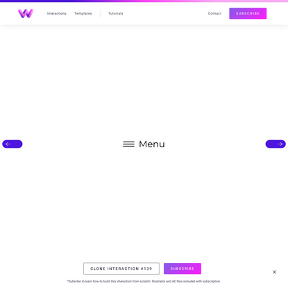 Daily Interaction #139   WebDev For You   Made in Webflow