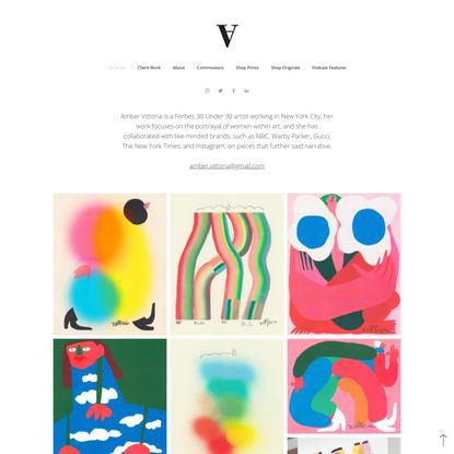 Amber Vittoria | Illustrator