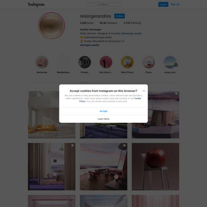 Andrés Reisinger (@reisingerandres) • Instagram photos and videos