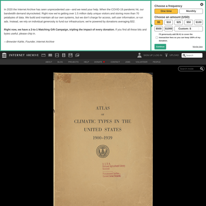 Atlas of climatic types in the United States, 1900-1939 : Thornthwaite, C. W. (Charles Warren), 1899-1963. 4n : Free Downloa...