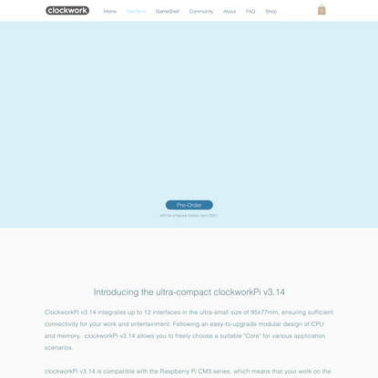DevTerm | ClockworkPi