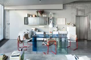 Sam Chermayeff's Berlin loft