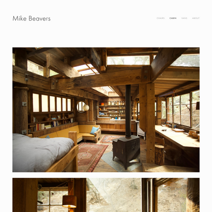 cabin — Mike Beavers