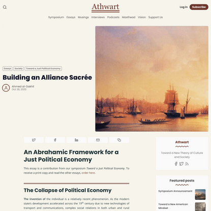 Building an Alliance Sacrée