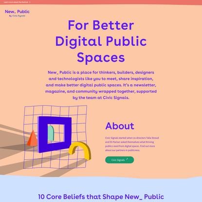 New Public