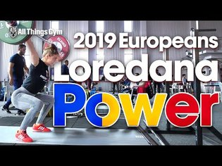 Loredana Toma 🇷🇴 POWER Session 2019 European Championships (Power Snatch / Power Clean Slowmos)