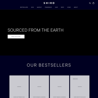 SHIRO US | Official Online Store