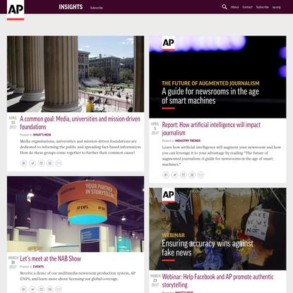Associated Press Insights Blog