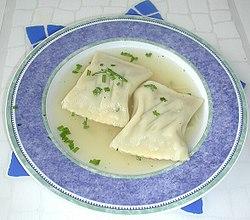 Maultaschen (german dumplings)