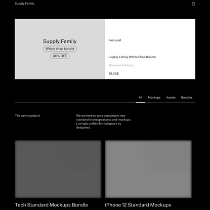 Supply.Family • Download assets, mockups and more