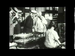 """""""A Day with Thomas A. Edison"""" -1922--Starring Thomas A. Edison !- Great documentary silent film"""