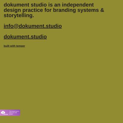 Dokument Studio