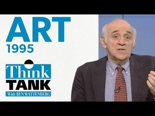 Is contemporary art, art? - with Peter Plagens (1995) | THINK TANK