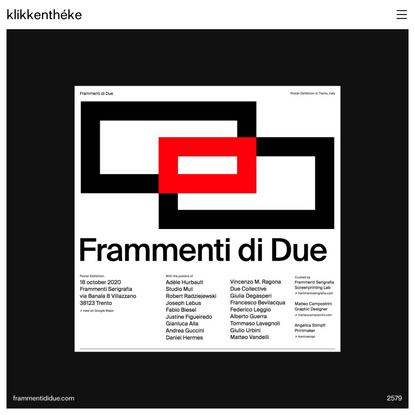 Klikkenthéke – Web design catalogue