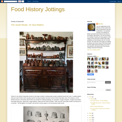 Food History Jottings