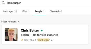"""✨ Talks about """"hamburger"""""""