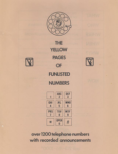 The Yellow Pages of Funlisted Numbers