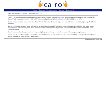 cairographics.org